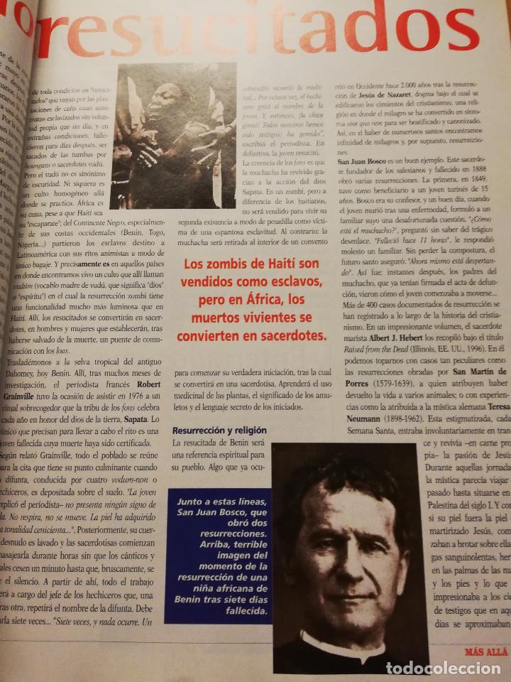 Coleccionismo de Revista Más Allá: REVISTA MÁS ALLÁ Nº 137 (LOS ZOMBIS EXISTEN / JOSTEIN GAARDER / TAROT DE MARSELLA / PITÁGORAS ...) - Foto 5 - 149002622