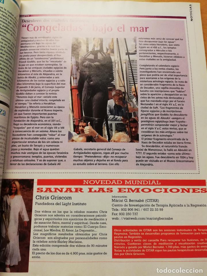 Coleccionismo de Revista Más Allá: REVISTA MÁS ALLÁ Nº 137 (LOS ZOMBIS EXISTEN / JOSTEIN GAARDER / TAROT DE MARSELLA / PITÁGORAS ...) - Foto 6 - 149002622