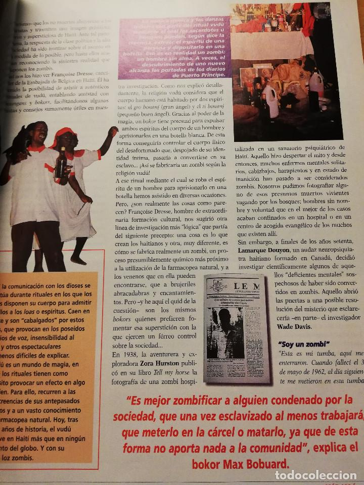 Coleccionismo de Revista Más Allá: REVISTA MÁS ALLÁ Nº 137 (LOS ZOMBIS EXISTEN / JOSTEIN GAARDER / TAROT DE MARSELLA / PITÁGORAS ...) - Foto 7 - 149002622