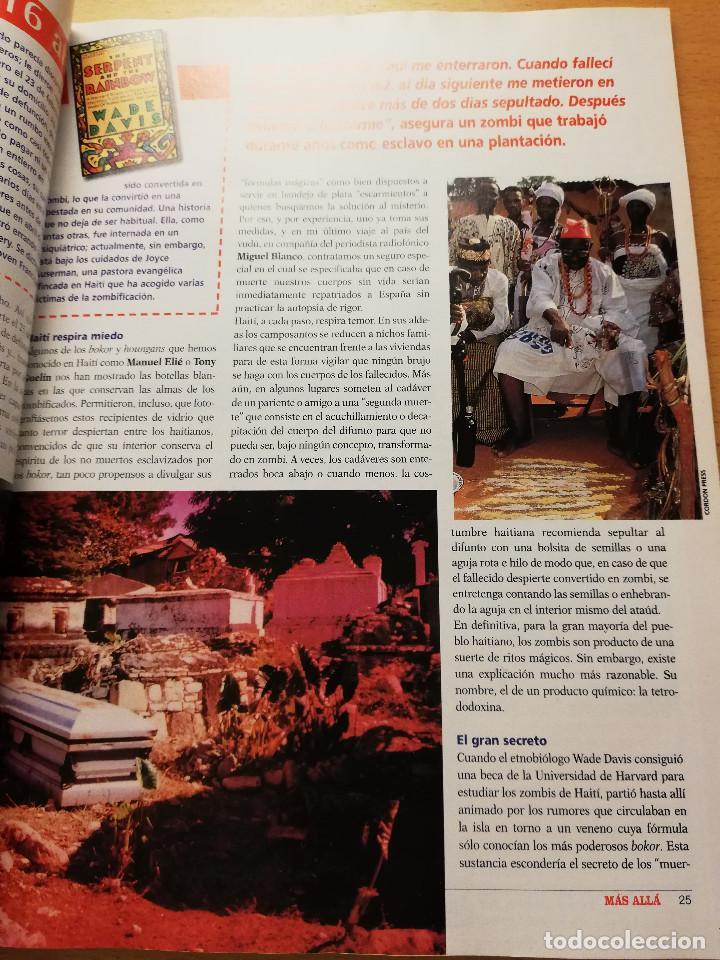 Coleccionismo de Revista Más Allá: REVISTA MÁS ALLÁ Nº 137 (LOS ZOMBIS EXISTEN / JOSTEIN GAARDER / TAROT DE MARSELLA / PITÁGORAS ...) - Foto 8 - 149002622