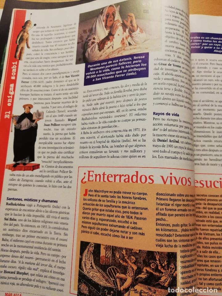 Coleccionismo de Revista Más Allá: REVISTA MÁS ALLÁ Nº 137 (LOS ZOMBIS EXISTEN / JOSTEIN GAARDER / TAROT DE MARSELLA / PITÁGORAS ...) - Foto 10 - 149002622