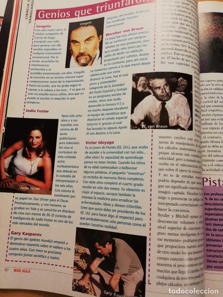 Coleccionismo de Revista Más Allá: REVISTA MÁS ALLÁ Nº 137 (LOS ZOMBIS EXISTEN / JOSTEIN GAARDER / TAROT DE MARSELLA / PITÁGORAS ...) - Foto 12 - 149002622