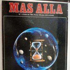 Coleccionismo de Revista Más Allá: MAS ALLA Nº 4 - ENERO DE 1994 // PARANORMAL ESOTERISMO OVNI UFO MISTERIO . Lote 149138006