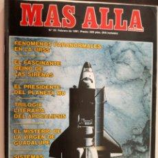 Coleccionismo de Revista Más Allá: MAS ALLA Nº 24 - FEBRERO DE 1991 // PARANORMAL ESOTERISMO OVNI UFO MISTERIO. Lote 149139434