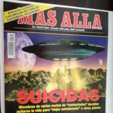 Coleccionismo de Revista Más Allá: MAS ALLA Nº 99 - MAYO DE 1997 // PARANORMAL ESOTERISMO OVNI UFO MISTERIO SECTAS BIBLIA SATANICA. Lote 149142174