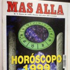 Coleccionismo de Revista Más Allá: MAS ALLA Nº 9 - ENERO DE 1999 // HOROSCOPO 99 PARANORMAL ESOTERISMO OVNI UFO MISTERIO. Lote 149145762
