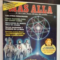 Coleccionismo de Revista Más Allá: MAS ALLA Nº 95 - ENERO DE 1997 // TUMBA DE JESUS PARANORMAL ESOTERISMO OVNI UFO MISTERIO. Lote 149148934