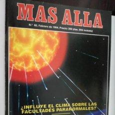 Coleccionismo de Revista Más Allá: MAS ALLA Nº 60 - FEBRERO DE 1994 // PACTO CON EL DIABLO PARANORMAL ESOTERISMO OVNI UFO MISTERIO. Lote 149151454