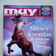 Coleccionismo de Revista Más Allá: MUY HISTORIA Nº 62 ABRIL 2015 (MITOS Y LEYENDAS DE TODOS LOS TIEMPOS). Lote 149734722