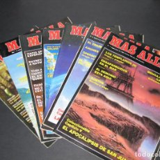 Coleccionismo de Revista Más Allá: LOTE DE 7 REVISTAS MÁS ALLÁ - NÚM. 7, 8, 10, 11, 43, 116, 126. Lote 149871978