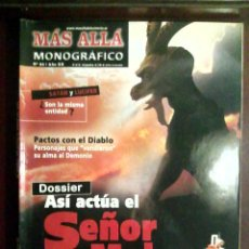 Coleccionismo de Revista Más Allá: MONOGRÁFICO MÁS ALLÁ N.º 53 AÑO XX ASÍ ACTÚA EL SEÑOR DEL MAL. Lote 54548605