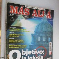 Coleccionismo de Revista Más Allá: MÁS ALLÁ DE LA CIENCIA. Nº 188/10/2004. OBJETIVO: LA IGLESIA - ILUMINATI, UFOLOGÍA, AMISH...... Lote 153600966
