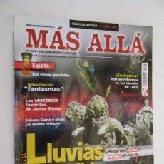 Collectionnisme de Magazine Más Allá: MAS ALLA REVISTA MENSUAL Nº 224 LLUVIAS IMPOSIBLES . Lote 156661718