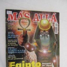 Coleccionismo de Revista Más Allá: MAS ALLA REVISTA MENSUAL Nº 135 , EGIPTO SU MISTERIOSO ORIGEN . Lote 156661806