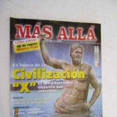 Coleccionismo de Revista Más Allá: MAS ALLA REVISTA MENSUAL Nº 162 -8-2002 EN BUSCA DE LA CIVILIZACION X . Lote 156661942