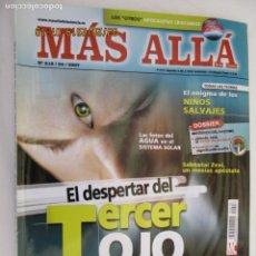 Coleccionismo de Revista Más Allá: MAS ALLA REVISTA MENSUAL Nº 218 EL DESPERTAR DEL TERCER OJO . Lote 156662762