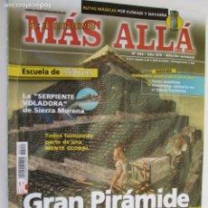 Coleccionismo de Revista Más Allá: MAS ALLA REVISTA MENSUAL Nº 222 GRAN PIRAMIDE ¿ COMO SE CONSTRUYO?. Lote 156662874