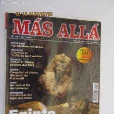 Coleccionismo de Revista Más Allá: MAS ALLA REVISTA MENSUAL Nº 130 12-1999 , EGIPTO LO QUE QUEDA POR DESCUBRIR . Lote 156663294
