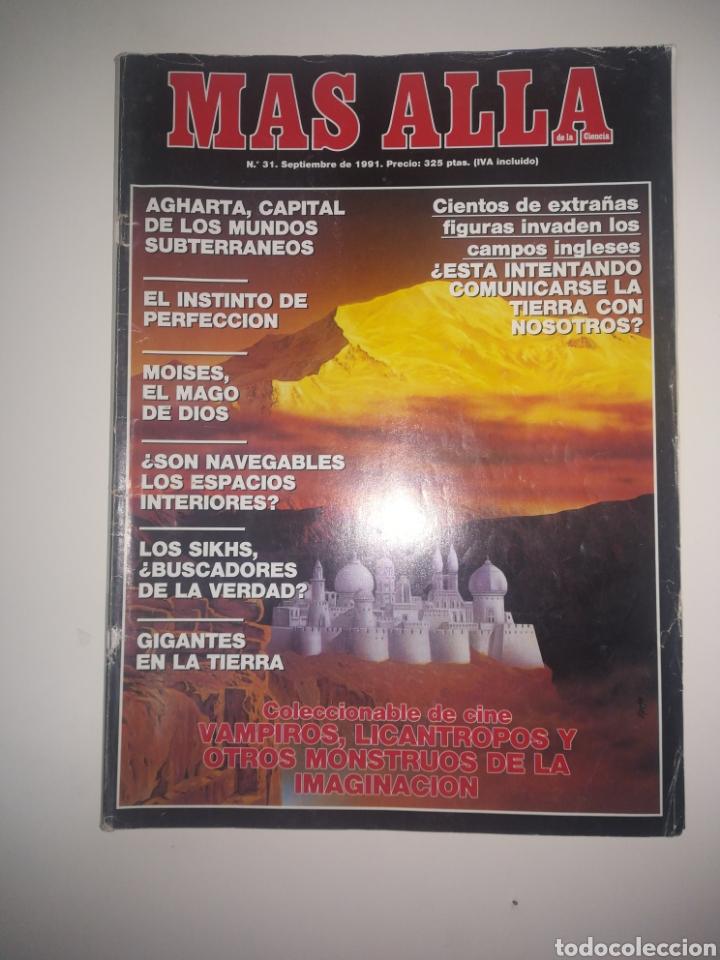 REVISTA MÁS ALLÁ NÚMERO 31 - AÑO 1991 (Coleccionismo - Revistas y Periódicos Modernos (a partir de 1.940) - Revista Más Allá)