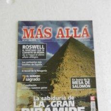 Collectionnisme de Magazine Más Allá: MÁS ALLÁ REVISTA Nº 317 - LA SABIDURÍA DE LA GRAN PIRÁMIDE, 7 EL NÚMERO SAGRADO, SANTUARIOS.... Lote 168612300