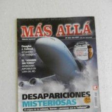 Coleccionismo de Revista Más Allá: MÁS ALLÁ REVISTA Nº 308 - DESAPARICIONES MISTERIOSAS, BARCOS, AVIONES, PERSONAS QUE SE ESFUMAN.... Lote 168614348