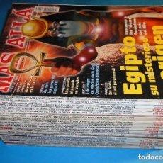 Coleccionismo de Revista Más Allá: LOTE 28 MÁS ALLÁ. VER LISTA Y FOTOS DE CADA PORTADA (2000-2004). Lote 169963048