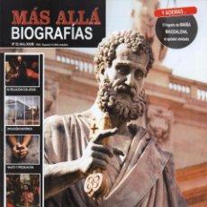 Coleccionismo de Revista Más Allá: MAS ALLA BIOGRAFIAS N. 3 - EN PORTADA: EL VERDADERO ROSTRO DE LOS DOCE APOSTOLES (NUEVA). Lote 170159949