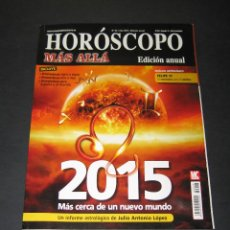 Coleccionismo de Revista Más Allá: HORÓSCOPO MÁS ALLÁ NÚM. 28 - 2015 - FELIPE VI - 98 PÁG.. Lote 171432137