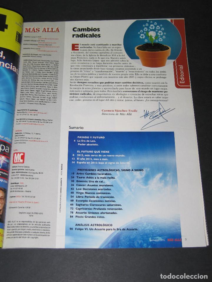 Coleccionismo de Revista Más Allá: HORÓSCOPO MÁS ALLÁ núm. 28 - 2015 - FELIPE VI - 98 pág. - Foto 2 - 171432137