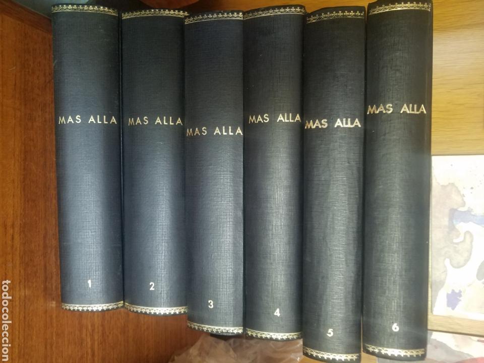 COLECCION REVISTA MAS ALLA EN SUS TOMOS DEL NUMERO 1 AL 61 MAS UN TOMO DE EXTAORDINARIOS (Coleccionismo - Revistas y Periódicos Modernos (a partir de 1.940) - Revista Más Allá)