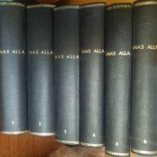 Coleccionismo de Revista Más Allá: COLECCION REVISTA MAS ALLA EN SUS TOMOS DEL NUMERO 1 AL 61 MAS UN TOMO DE EXTAORDINARIOS. Lote 171493087