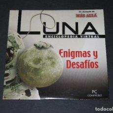 Coleccionismo de Revista Más Allá: CD ROM - LUNA ENCICLOPEDIA VIRTUAL - ENIGMAS Y DESAFÍOS - MÁS ALLÁ - 2004. Lote 173652675