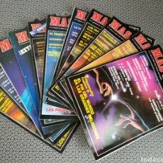 Coleccionismo de Revista Más Allá: LOTE 11 REVISTAS MAS ALLÁ DE 1989. Lote 174388048