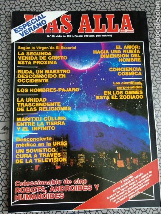 Coleccionismo de Revista Más Allá: Lote 13 revistas Mas Allá 1991 completo - Foto 3 - 174389758