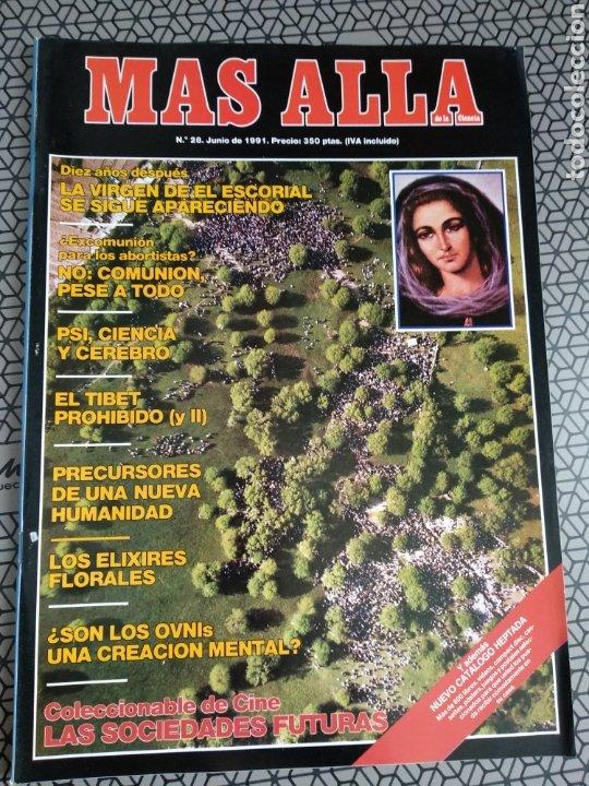 Coleccionismo de Revista Más Allá: Lote 13 revistas Mas Allá 1991 completo - Foto 7 - 174389758
