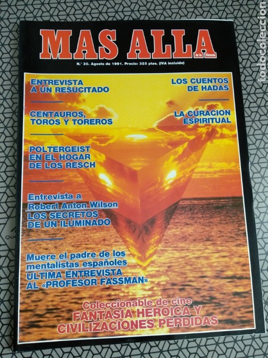 Coleccionismo de Revista Más Allá: Lote 13 revistas Mas Allá 1991 completo - Foto 8 - 174389758