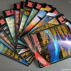 Coleccionismo de Revista Más Allá: LOTE 13 REVISTAS MAS ALLÁ 1991 COMPLETO. Lote 174389758