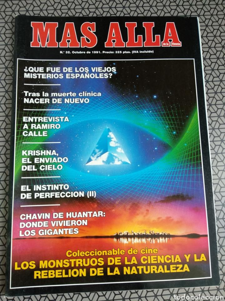 Coleccionismo de Revista Más Allá: Lote 13 revistas Mas Allá 1991 completo - Foto 10 - 174389758