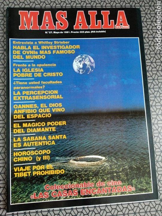 Coleccionismo de Revista Más Allá: Lote 13 revistas Mas Allá 1991 completo - Foto 11 - 174389758