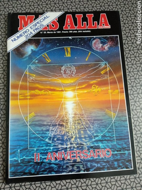Coleccionismo de Revista Más Allá: Lote 13 revistas Mas Allá 1991 completo - Foto 12 - 174389758