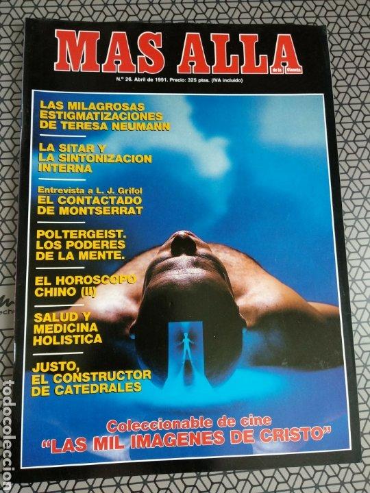 Coleccionismo de Revista Más Allá: Lote 13 revistas Mas Allá 1991 completo - Foto 13 - 174389758