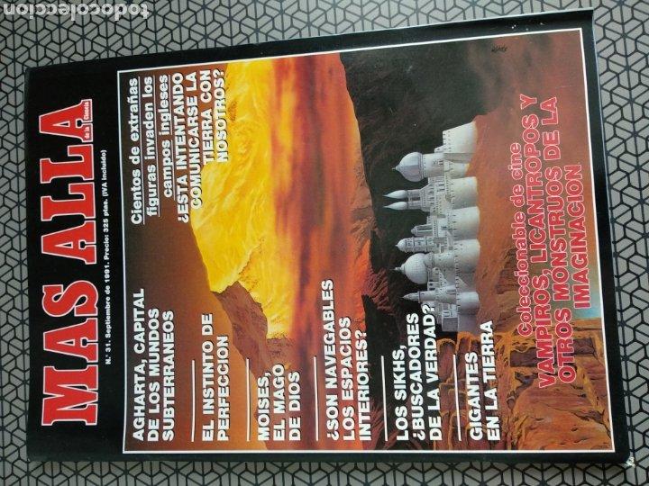 Coleccionismo de Revista Más Allá: Lote 13 revistas Mas Allá 1991 completo - Foto 14 - 174389758