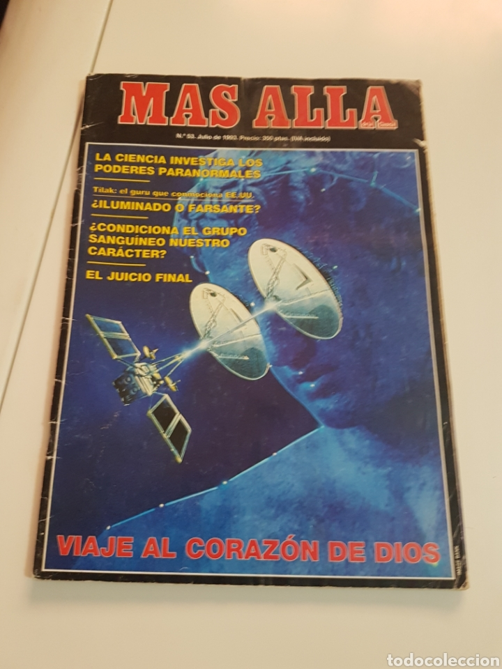 Coleccionismo de Revista Más Allá: LOTE 8 REVISTAS MAS ALLA DE LA CIENCIA - Foto 2 - 174587457