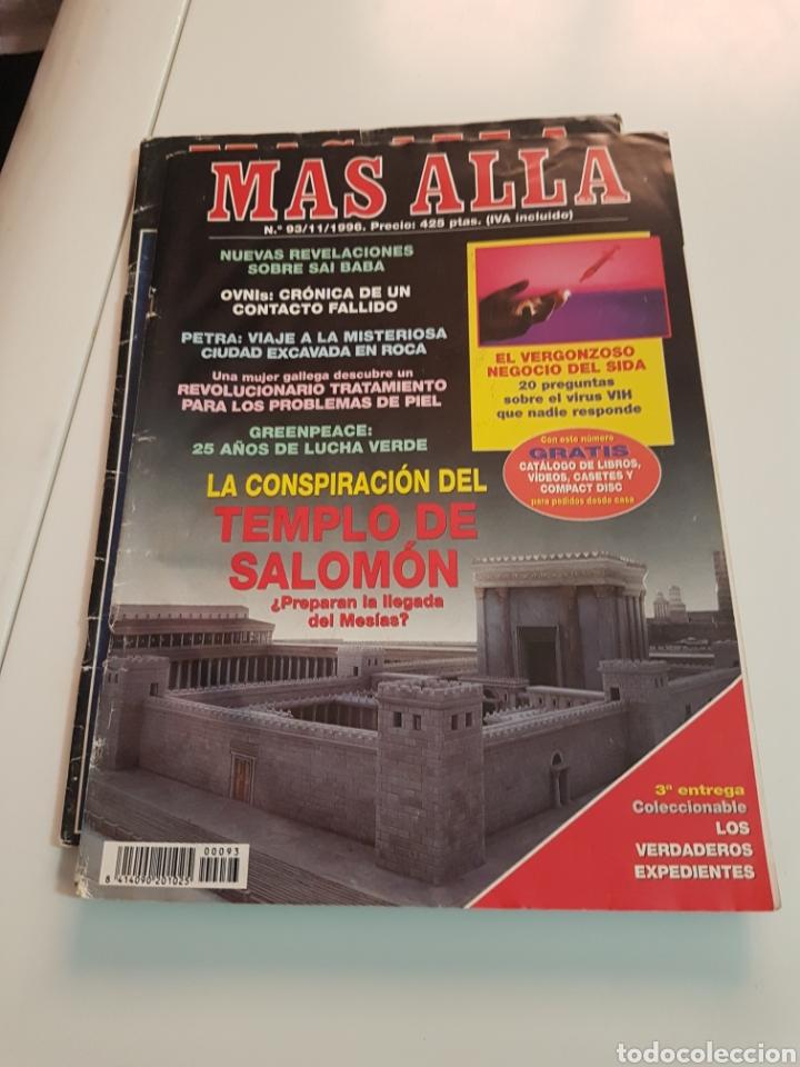 Coleccionismo de Revista Más Allá: LOTE 8 REVISTAS MAS ALLA DE LA CIENCIA - Foto 3 - 174587457