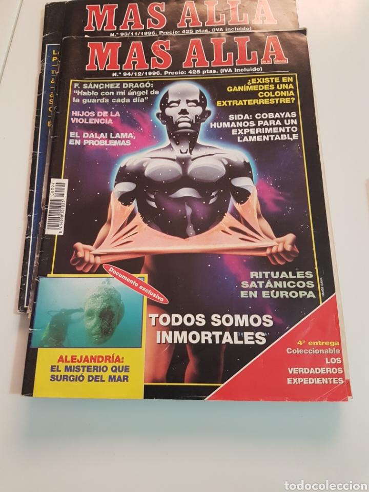 Coleccionismo de Revista Más Allá: LOTE 8 REVISTAS MAS ALLA DE LA CIENCIA - Foto 4 - 174587457