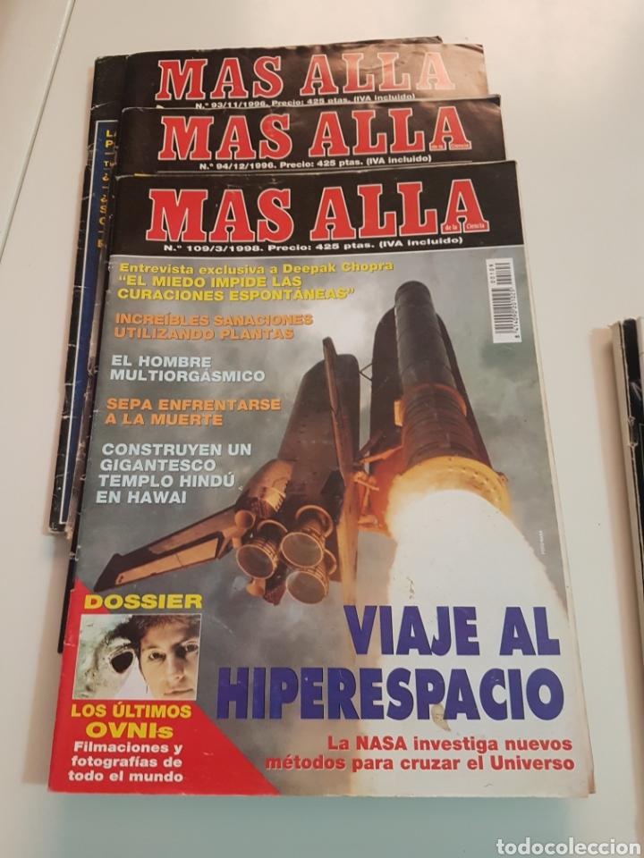Coleccionismo de Revista Más Allá: LOTE 8 REVISTAS MAS ALLA DE LA CIENCIA - Foto 5 - 174587457