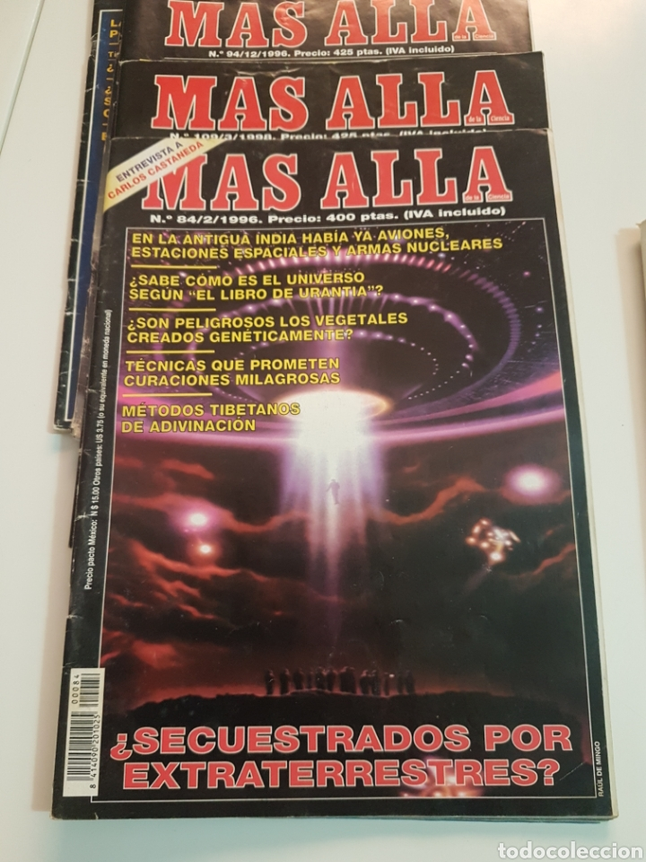 Coleccionismo de Revista Más Allá: LOTE 8 REVISTAS MAS ALLA DE LA CIENCIA - Foto 6 - 174587457