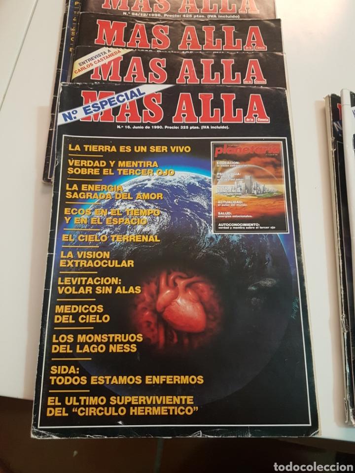 Coleccionismo de Revista Más Allá: LOTE 8 REVISTAS MAS ALLA DE LA CIENCIA - Foto 7 - 174587457