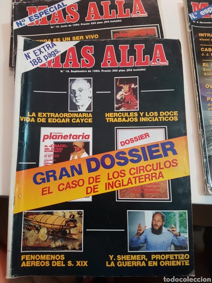 Coleccionismo de Revista Más Allá: LOTE 8 REVISTAS MAS ALLA DE LA CIENCIA - Foto 8 - 174587457