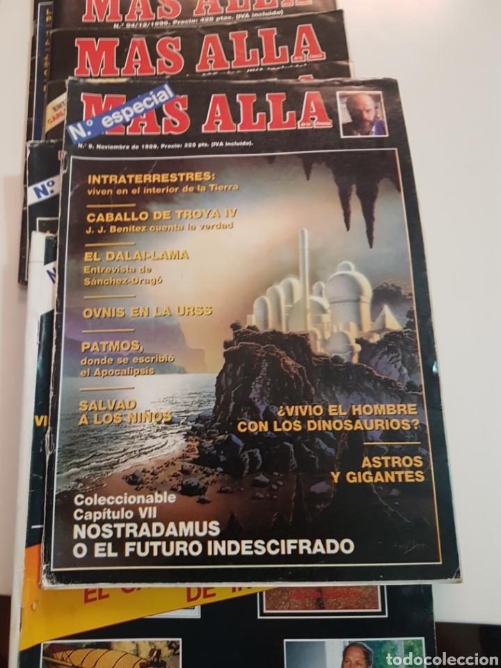 Coleccionismo de Revista Más Allá: LOTE 8 REVISTAS MAS ALLA DE LA CIENCIA - Foto 9 - 174587457